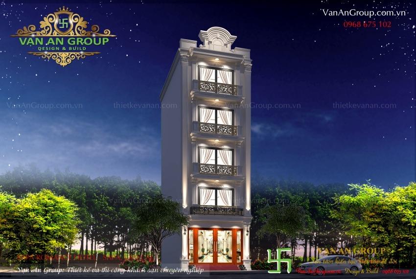 thiết kế khách sạn mini đẹp tại sapa