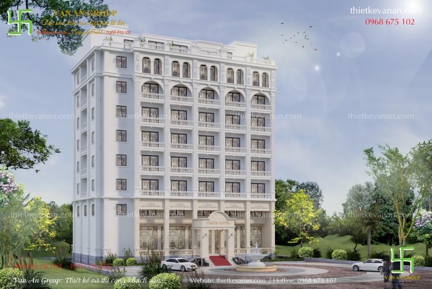 thiết kế thi công khách sạn 3 sao tại phú quốc