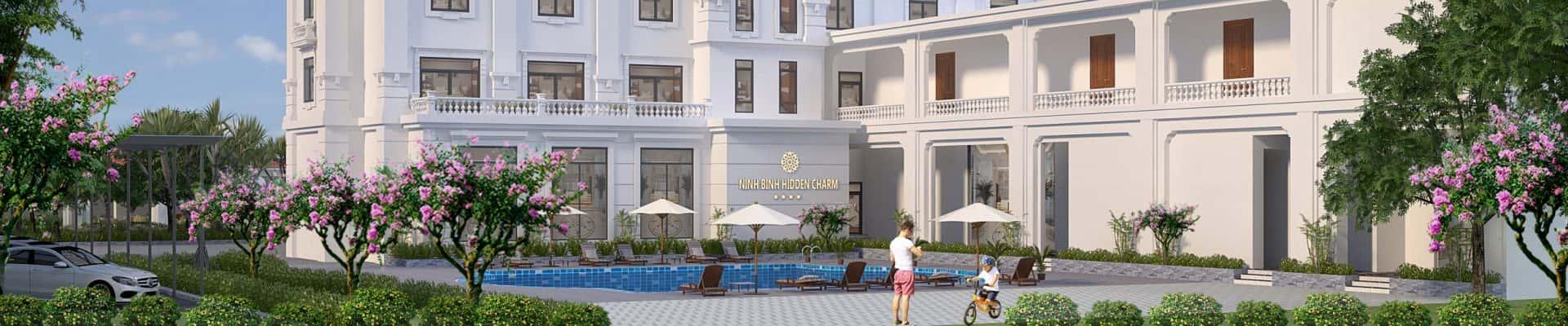Thiết kế Resort 4 sao đẳng cấp Châu Âu