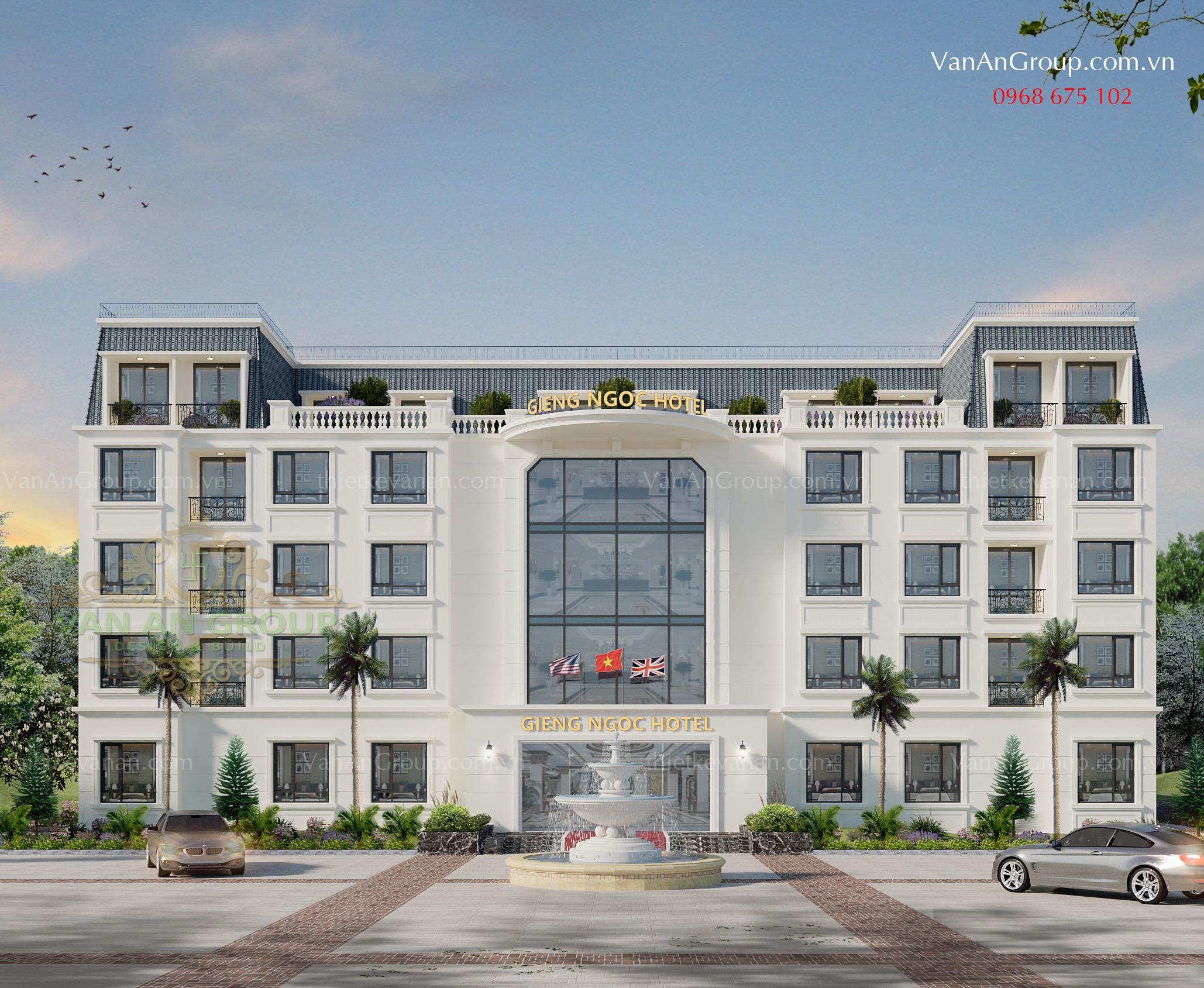 công ty chuyên thiết kế thi công khách sạn