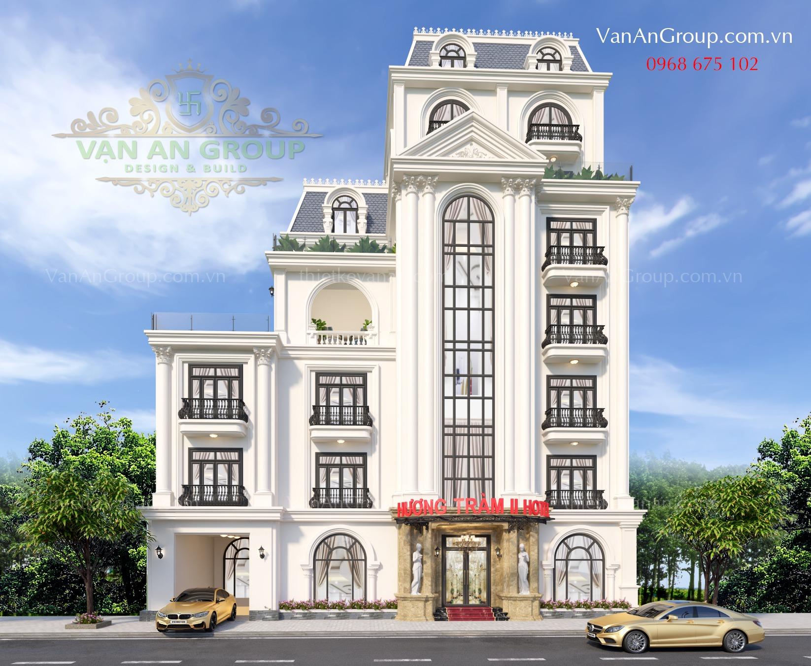 công ty thiết kế khách sạn 3 sao