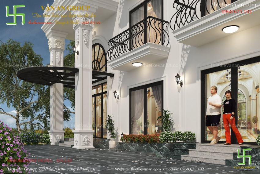 công ty thiết kế thi công villa