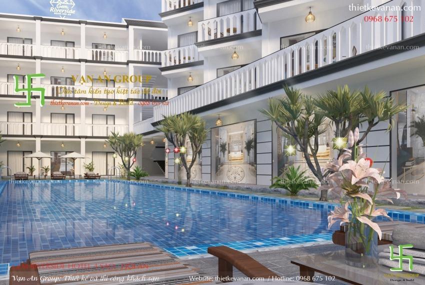mẫu thiết kế khách sạn đẹp
