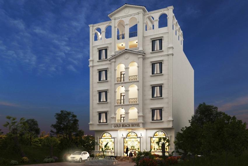 thiết kế khách sạn 2 sao đẹp