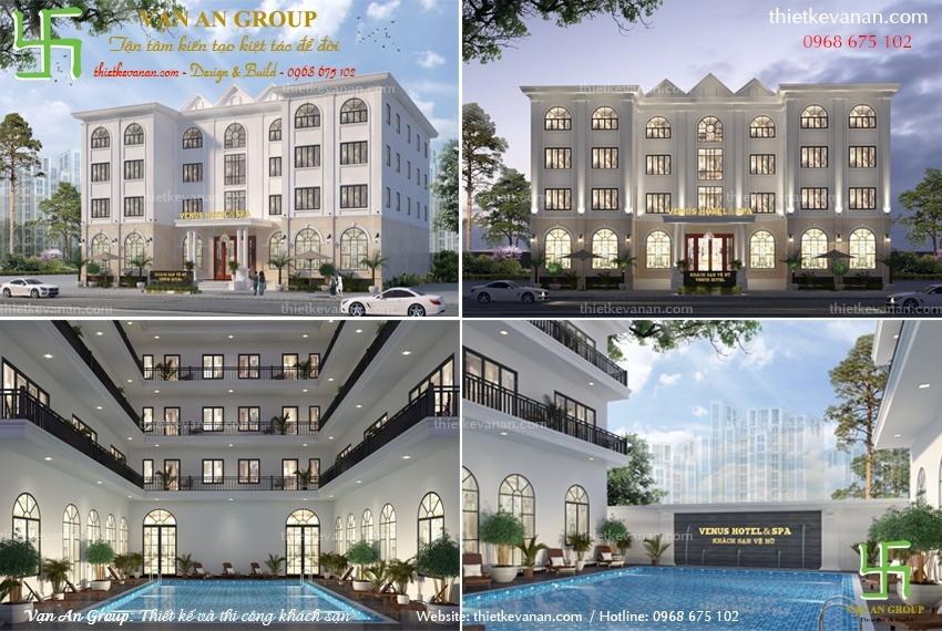 thiết kế khách sạn tại hội an
