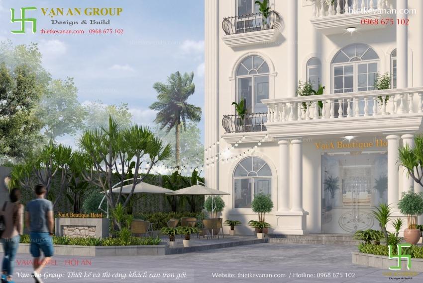 thiết kế khách sạn