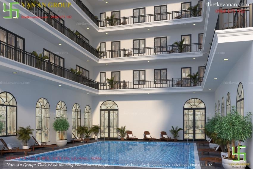thiết kế khách sạn đẹp