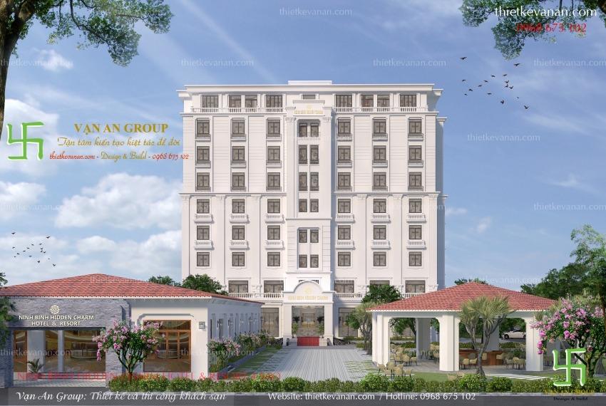 thiết kế resort nghỉ dưỡng tại ninh bình
