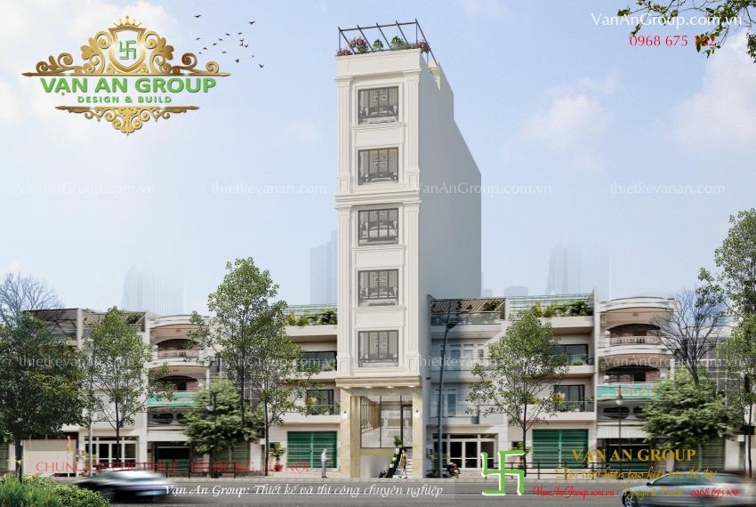 thiết kế thi công chung cư cho thuê