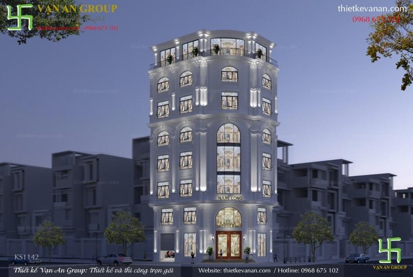 thiết kế thi công khách sạn 2 sao tại hà nội