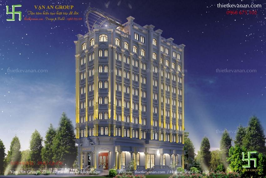 thiết kế thi công khách sạn 4 sao tại phú quốc