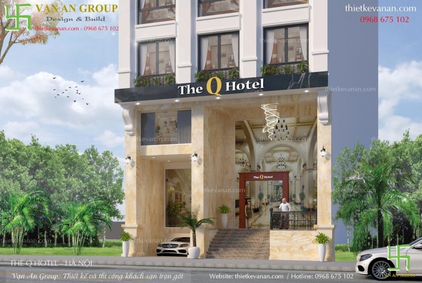 thiết kế thi công khách sạn