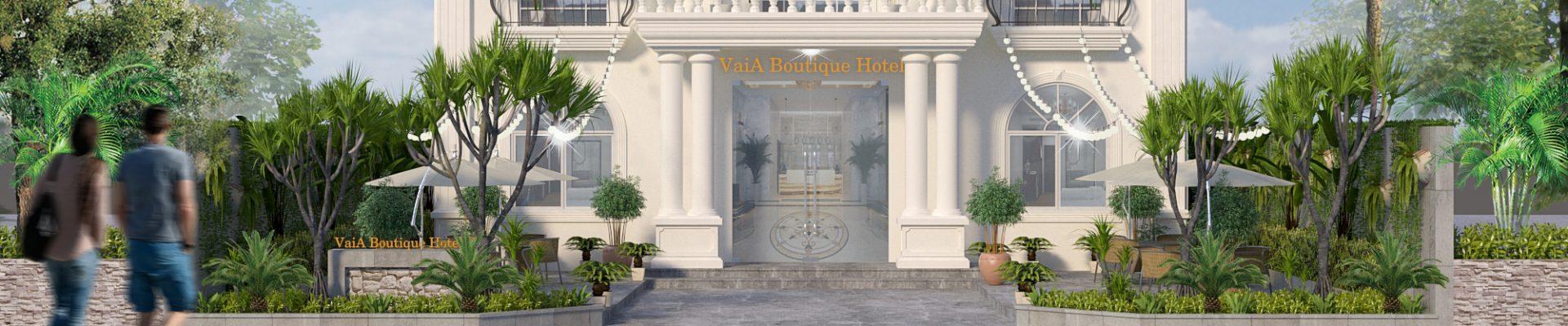 Thiết kế thi công khách sạn 2 sao chuyên nghiệp