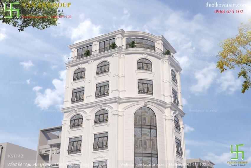 thiết kế thi công khách sạn đẹp