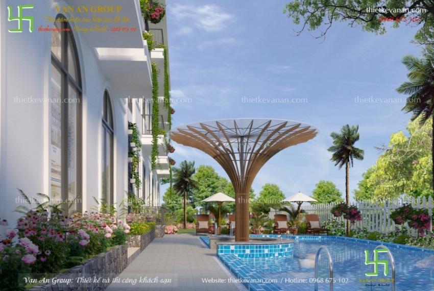 thiết kế thi công resort mini tại phú quốc