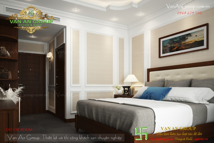 chuyên thiết kế khách sạn 3 sao