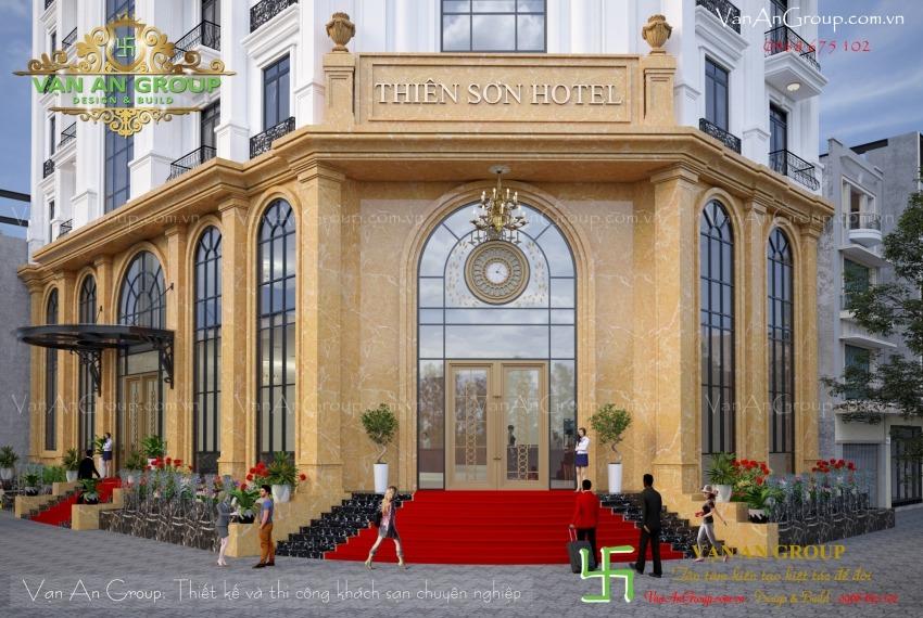 công ty chuyên thiết kế khách sạn 3 sao