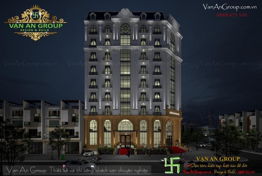 công ty thiết kế khách sạn 3 sao chuyên nghiệp