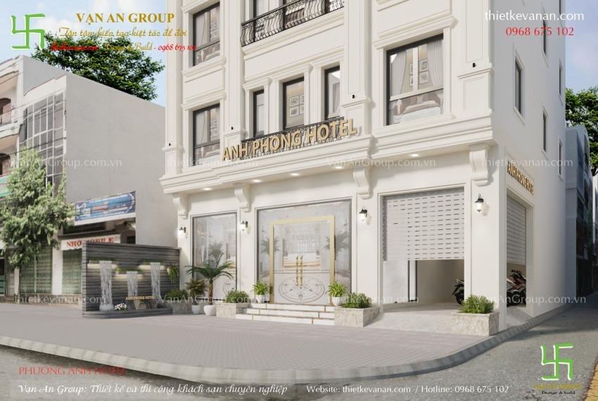 công ty thiết kế thi công khách sạn