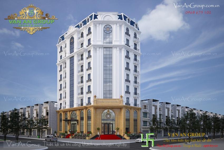 thiết kế khách sạn 3 sao tại hà nội