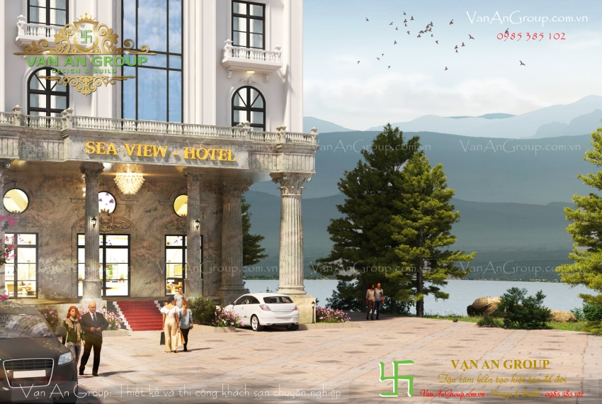 chuyên thiết kế khách sạn 4 sao