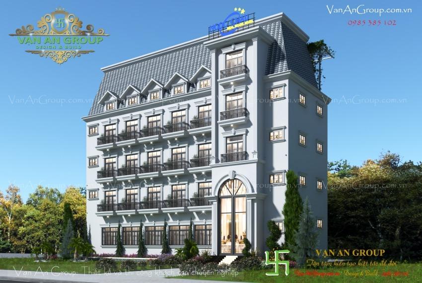thiết kế khách sạn 3 sao phú quốc