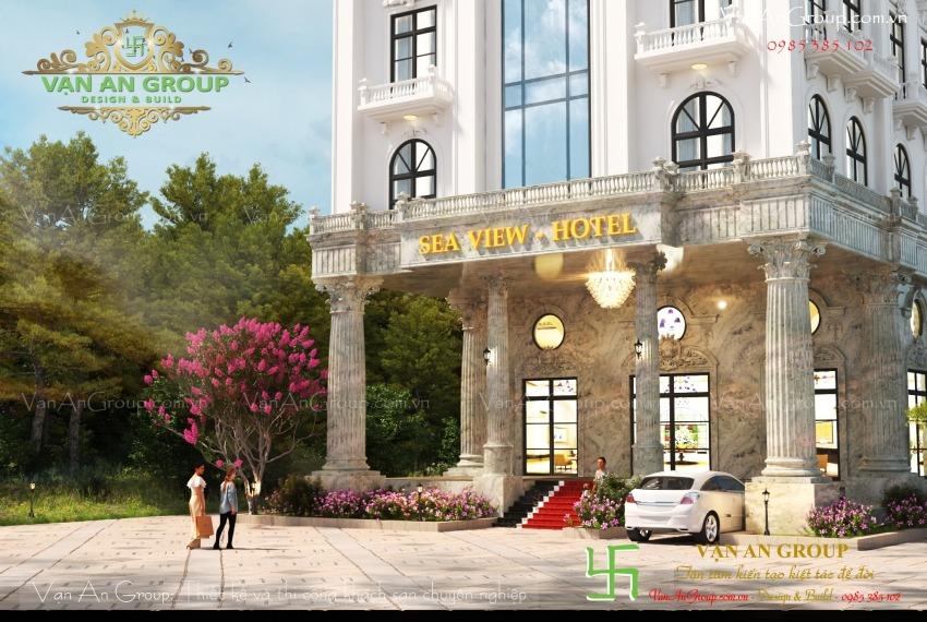 thiết kế khách sạn 4 sao chuyên nghiệp