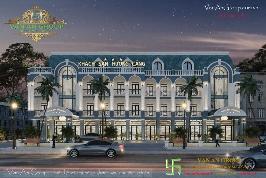 công ty thiết kế thi công khách sạn 3 sao chuyên nghiệp